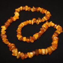 Vintage amber beads