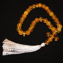 Vintage amber rosary