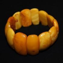 Vintage amber bracelet